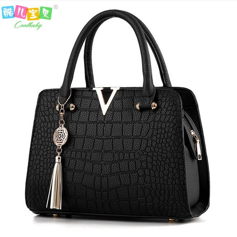 8c0b9eae2a Cheap crocodile leather handbag, Buy Quality brand leather handbag directly  from China designer leather handbags Suppliers: