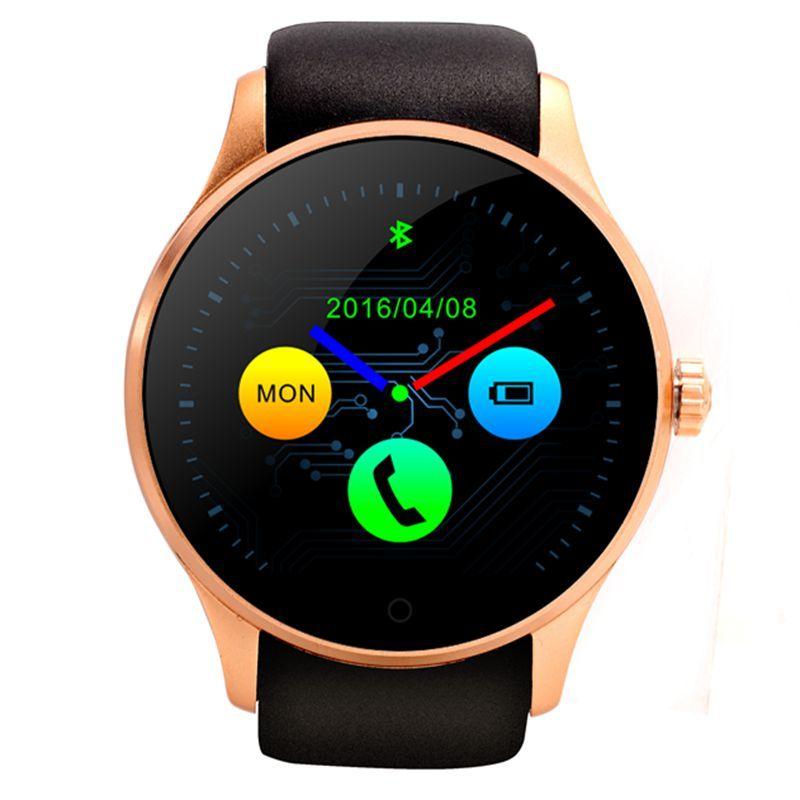 2016 neue wasserdichte runde smart watch k88s smartwatch für android iso sim bluetooth pulsmesser armbanduhr telefon //Price: $US $123.41 & FREE Shipping //     #smartuhren