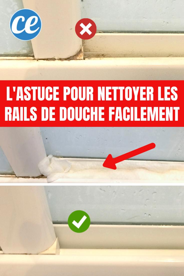 Comment Nettoyer Les Rails De Douche En Profondeur Sans Effort