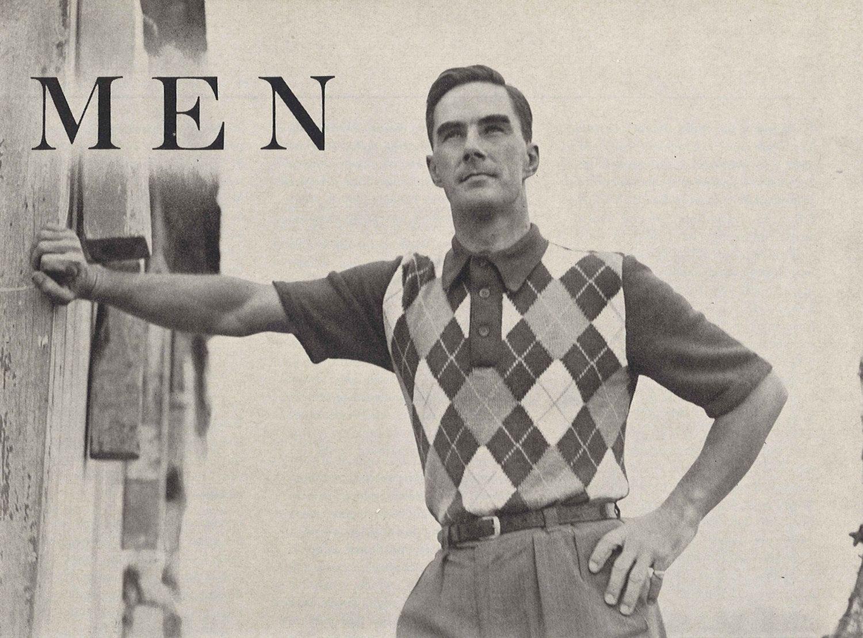 Bowling Night! • 1950s Knitting Bowling Shirt Top Polo • 50s Vintage ...