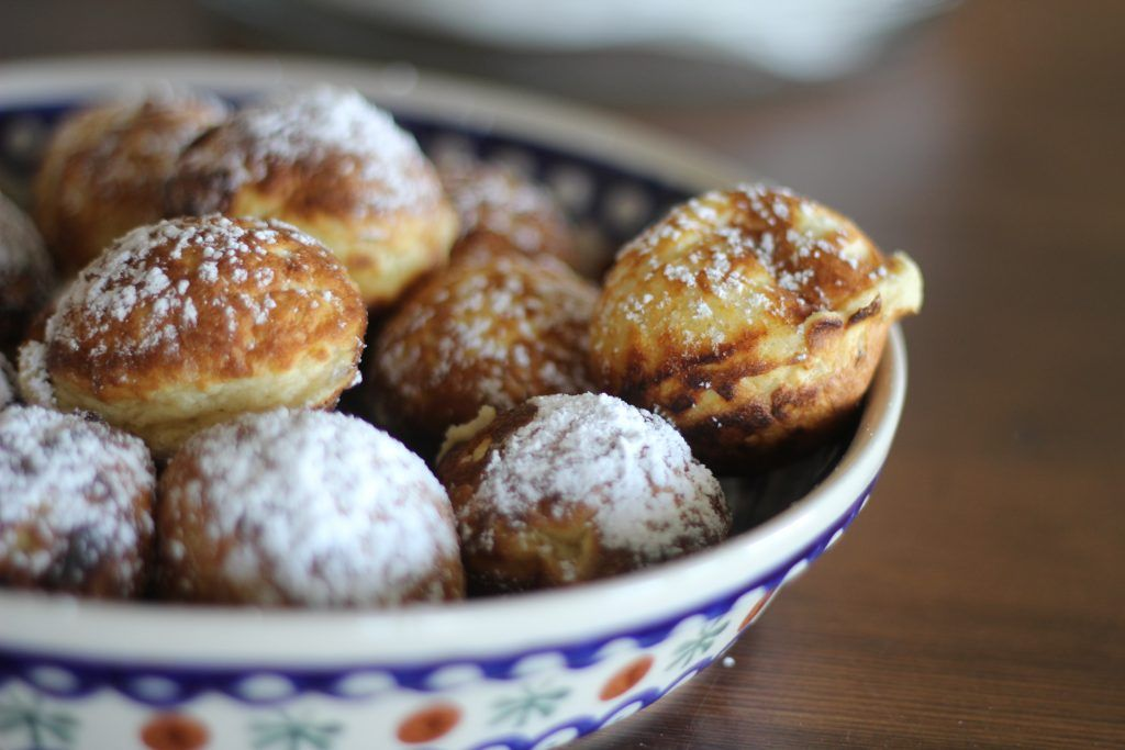 Buttermilk Aebleskivers A Bountiful Kitchen Recipe Ebelskiver Recipe Buttermilk Recipes Food
