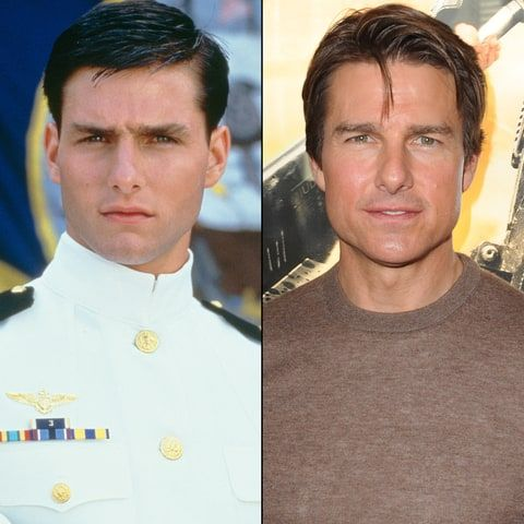 80's stars...then and now Tom Cruise..got better (looking ...