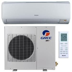 Gree High Efficiency 9 000 Btu 3 4 Ton Ductless Duct Free Mini Split Air Conditioner With Inverter Heat And Remote 115v Rio09hp115v1a The Home Depot Air Conditioner Inverter Ductless Mini Split Heat Pump System