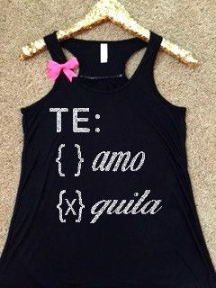 ec5d50158 Te Amo - Tequila Tank - Ruffles with Love - RWL - Workout Tank - Fitne