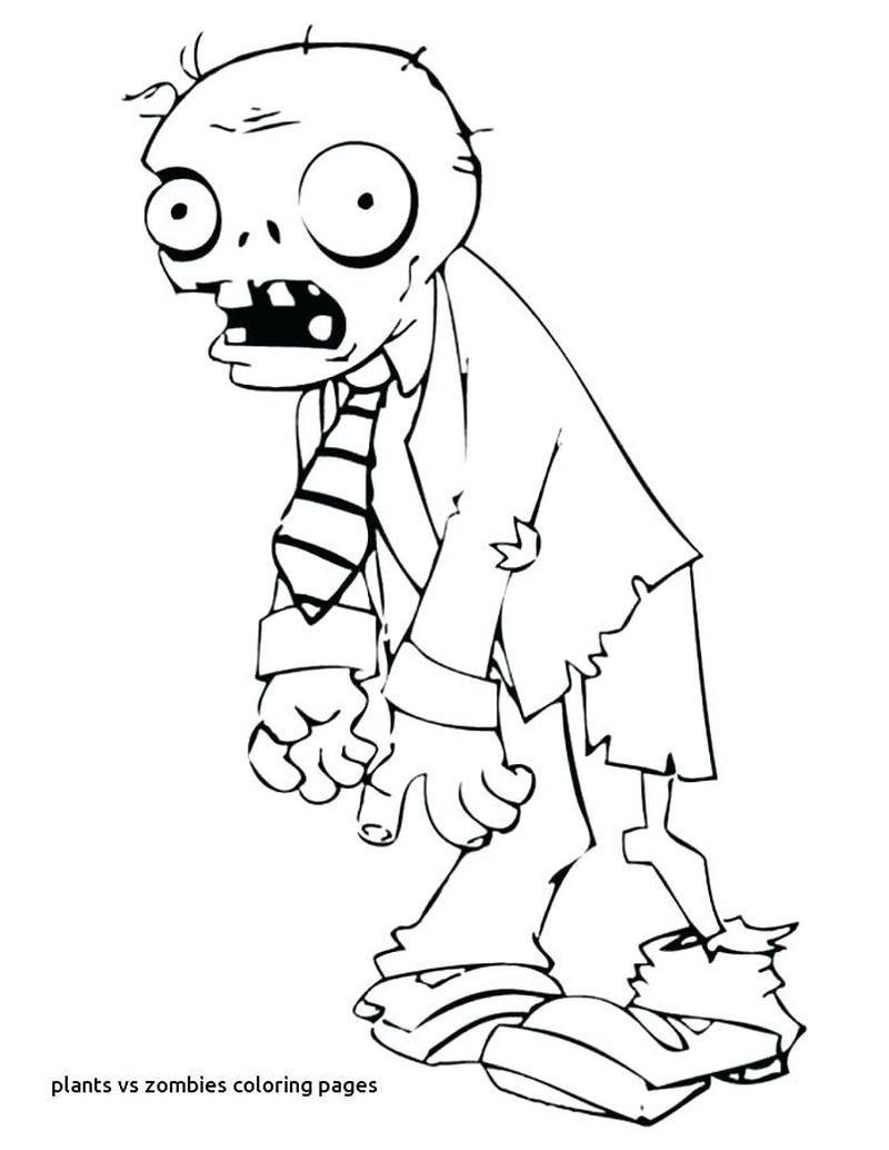 Plants Vs Zombies Coloring Pages Beautiful Coloring Pages Zombies