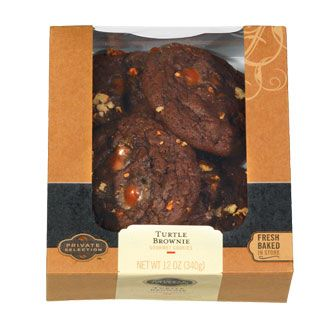 Try Turtle Brownie Cookies and other Cookies from Private Selection! Gourmet recipes and artisan foods at the Kroger family of stores. #turtlebrownies