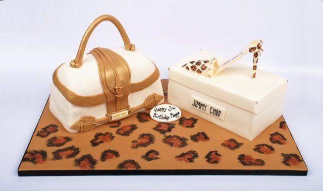 jimmy choo cake - designer cake edinburgh - jimmy choo ...