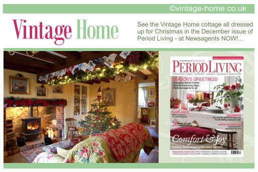 Our Very Own Pottery Cottage At Christmas Featured In Period Living Magazine