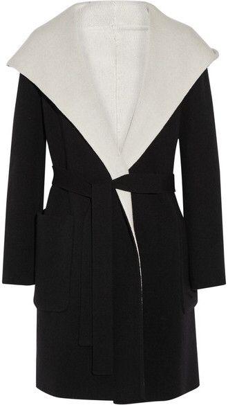 Max Mara Reversible hooded wool coat #affiliate