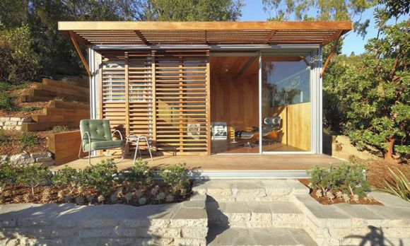 Fab prefab starter homes Just the basics~KitHaus in Los Angeles offers a  simple take