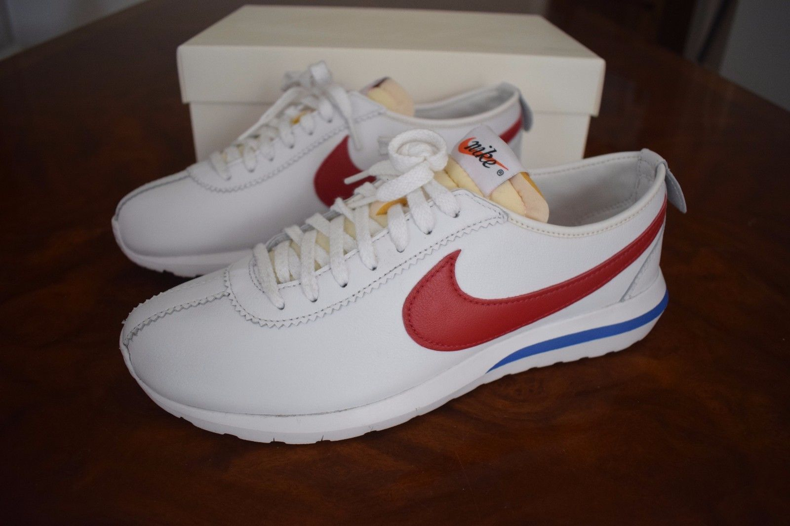 a81333d61e04 Nm Sp Shoes Forrest Gump Men Size Mens Nike Roshe Cortez.