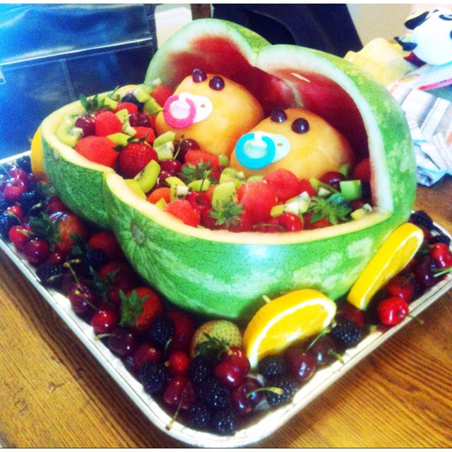 twin baby shower. i'm so going to make this for my best friends, Baby shower