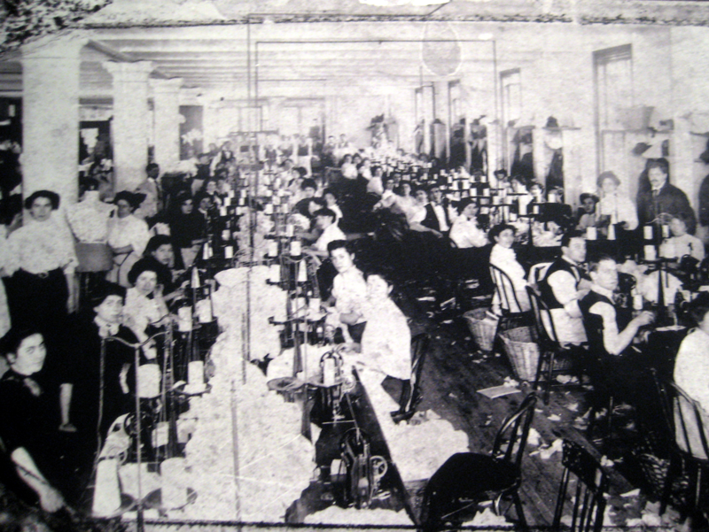 Workers at Triangle Shirtwaist Factory