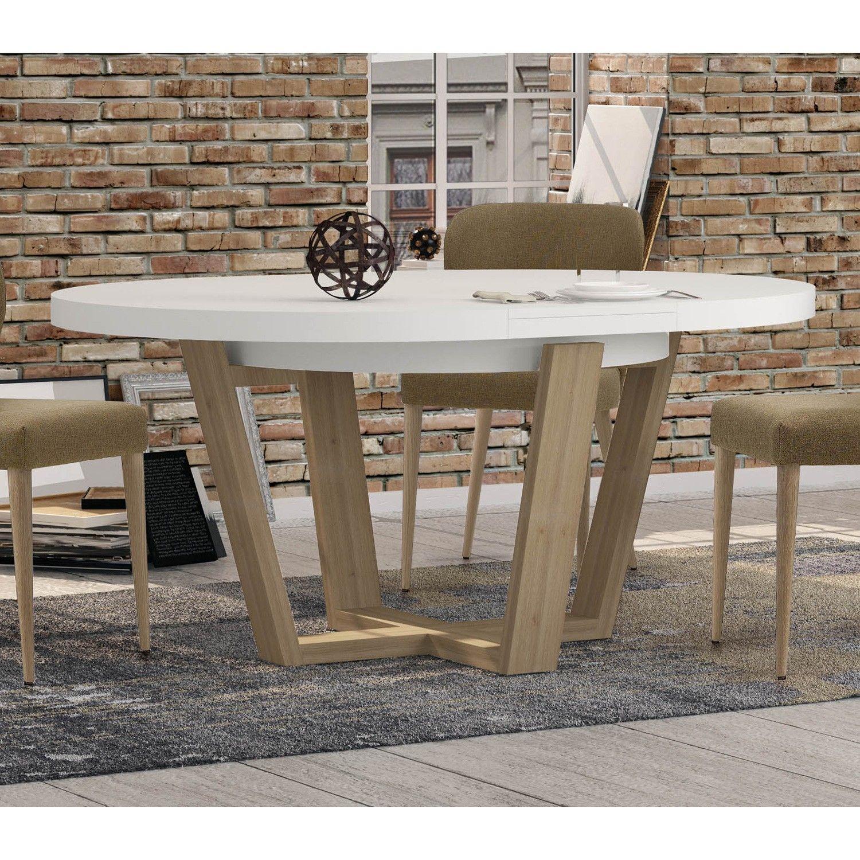 Mesa de comedor redonda extensible fredericia fabricada - Mesa comedor redonda ...