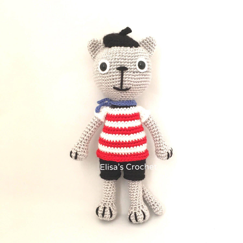 Pin by Elisa's Crochet on Cute Crocheted Amigurumi Cat