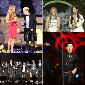 15116092c3  MAMA2014 The 2013 Mnet Asian Music Awards (MAMA) drew celebrities  including (clockwise from top left) Paris Hilton and G-Dragon