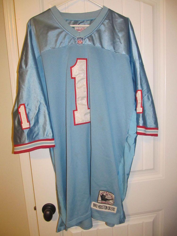best service c2f2e b90fb Warren Moon - Houston Oilers Authentic jersey - Mitchell ...