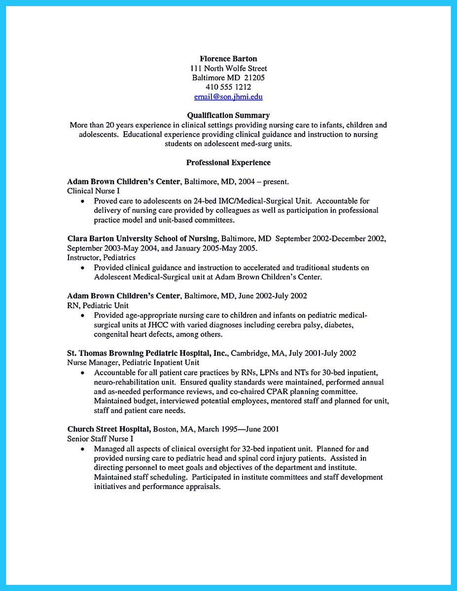 awesome perfect crna resume to get noticed by company check more at