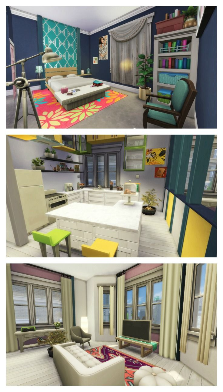 The sims 4 renovation 18 culpepper house no cc