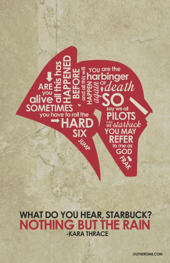 Battlestar Galactica Poster Battlestar Galactica Quote Posters