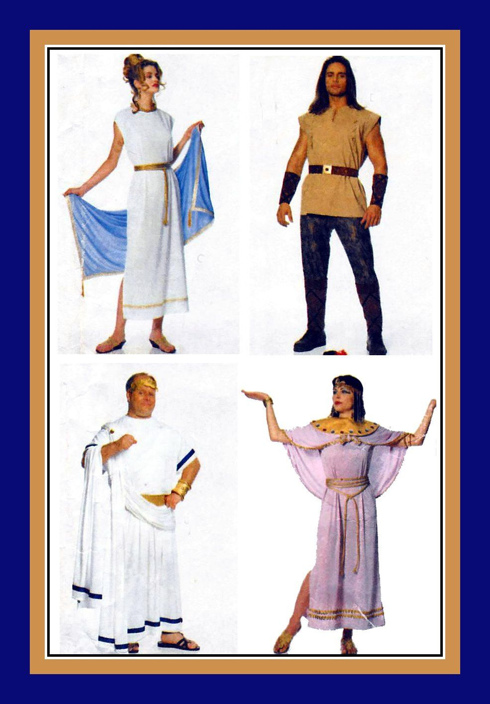 Vintage 1996 historical costume collection adult sewing pattern vintage 1996 historical costume collection adult sewing pattern greek goddess roman senator jeuxipadfo Images