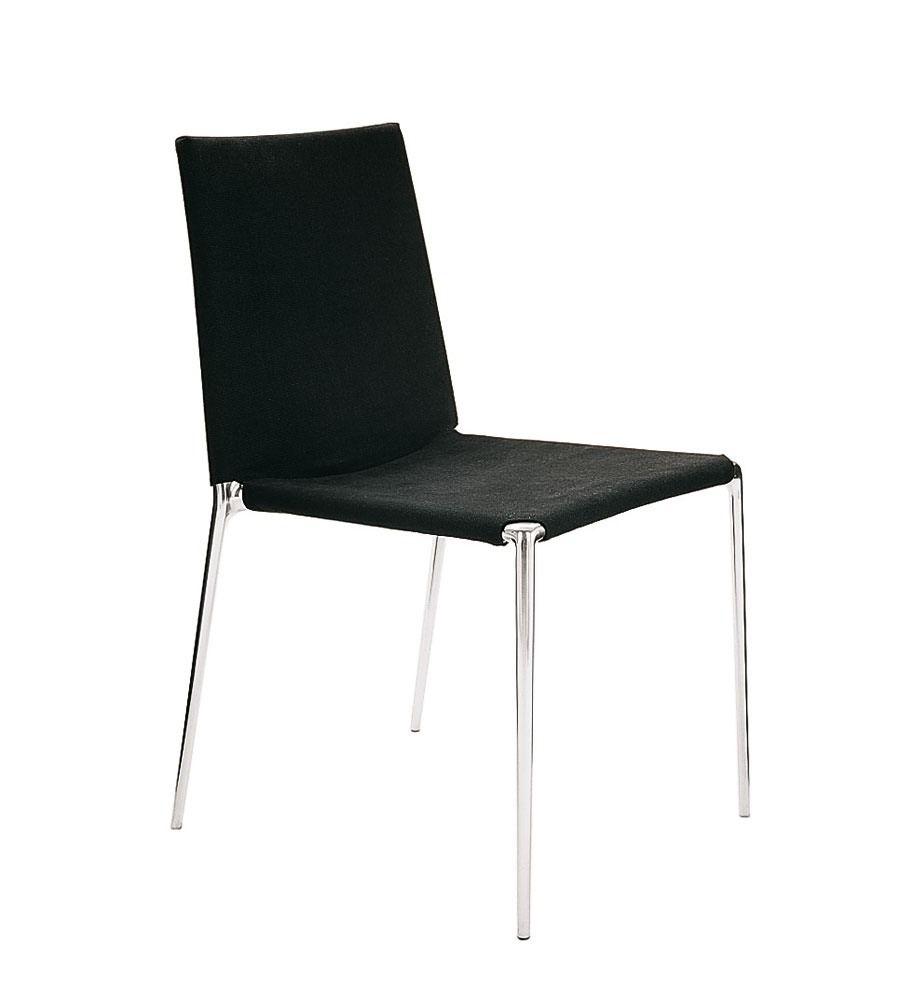Sleek And Elegant Alma Chair By Roberto Barbieri