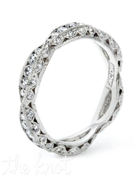2578 B By Tacori More From Tacori Http Www Theknot Com Gallery Wedding Rings Tacori Tacori Wedding Band Eternity Band Diamond Designer Engagement Rings