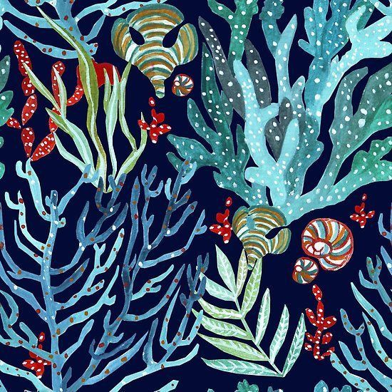 Coral Pattern by Anca Pora