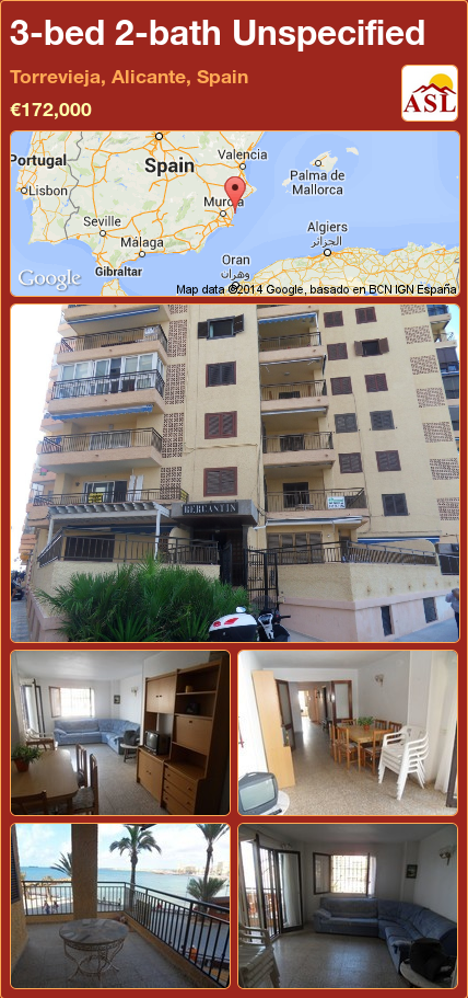 Jacuzzi Torrevieja.3 Bed 2 Bath Unspecified In Torrevieja Alicante Spain