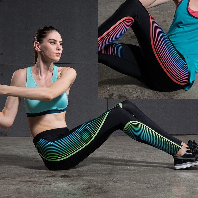 b8126574bbf80 2017 Sport Yoga Pants Leggings High Waist Compression Pants Gym Clothes  Sexy Running Yoga Pants Women Sports Leggings Fitness -- Shop now for Xmas.