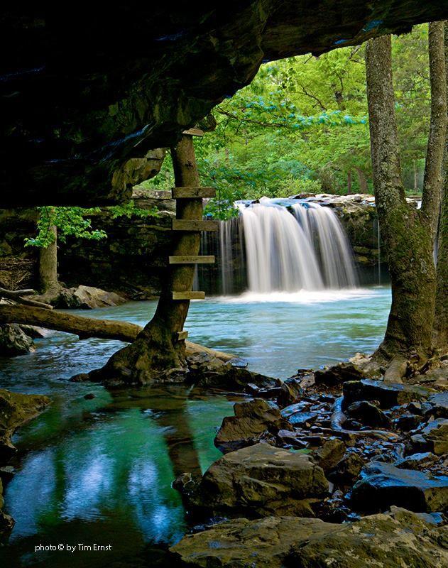 Falling Water Falls Ar Tim Ernst Arkansas Pinterest