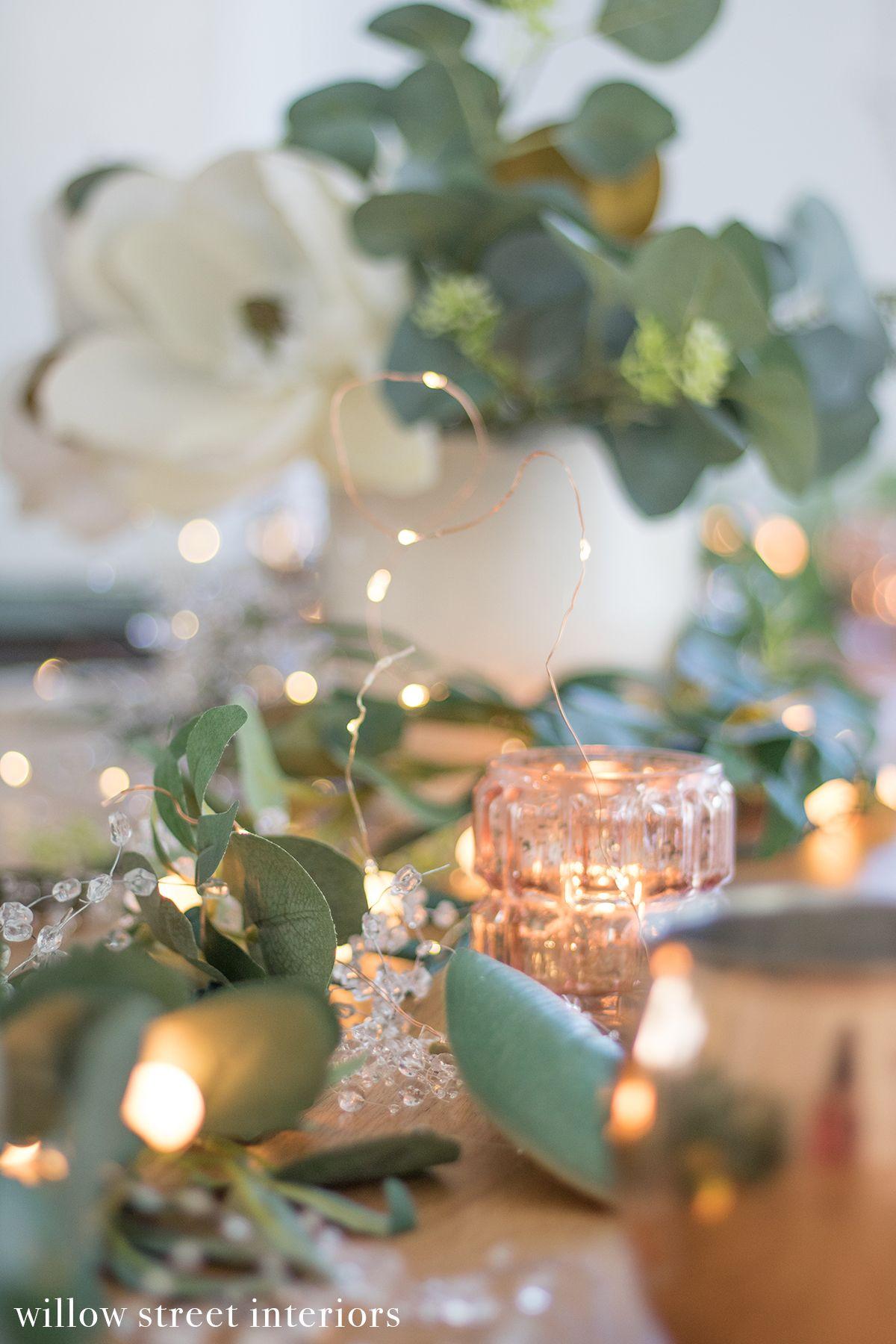 New Year's Eve Tablescape Idea | Tablescapes, Pretty ...