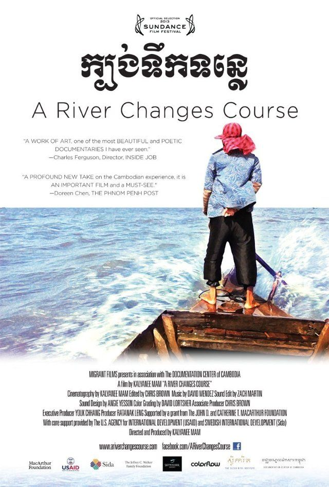 A River Changes Course Documentaries, River, Poster