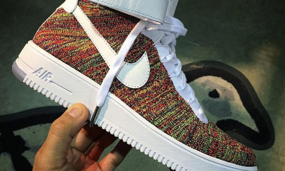 nike red flyknit cheap nike air force ones