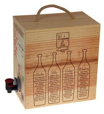 this gives wine in a box new meaning.  why didn't i think of that!?