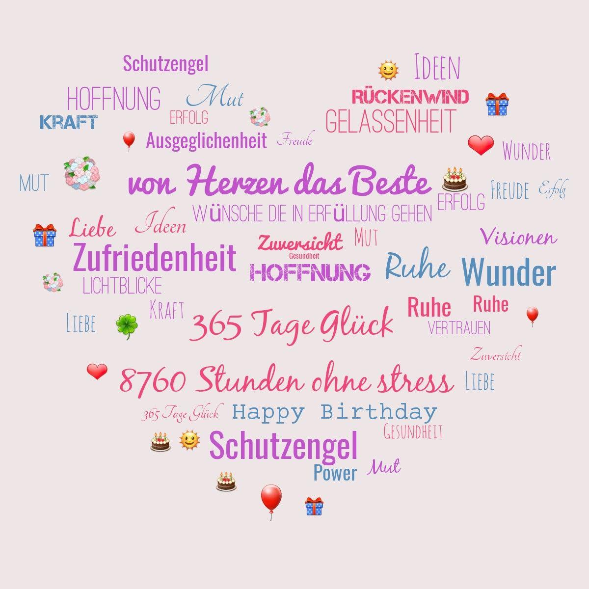 Geburtstag Gluckwunsche Geburtstag Freundin Spruche Zum