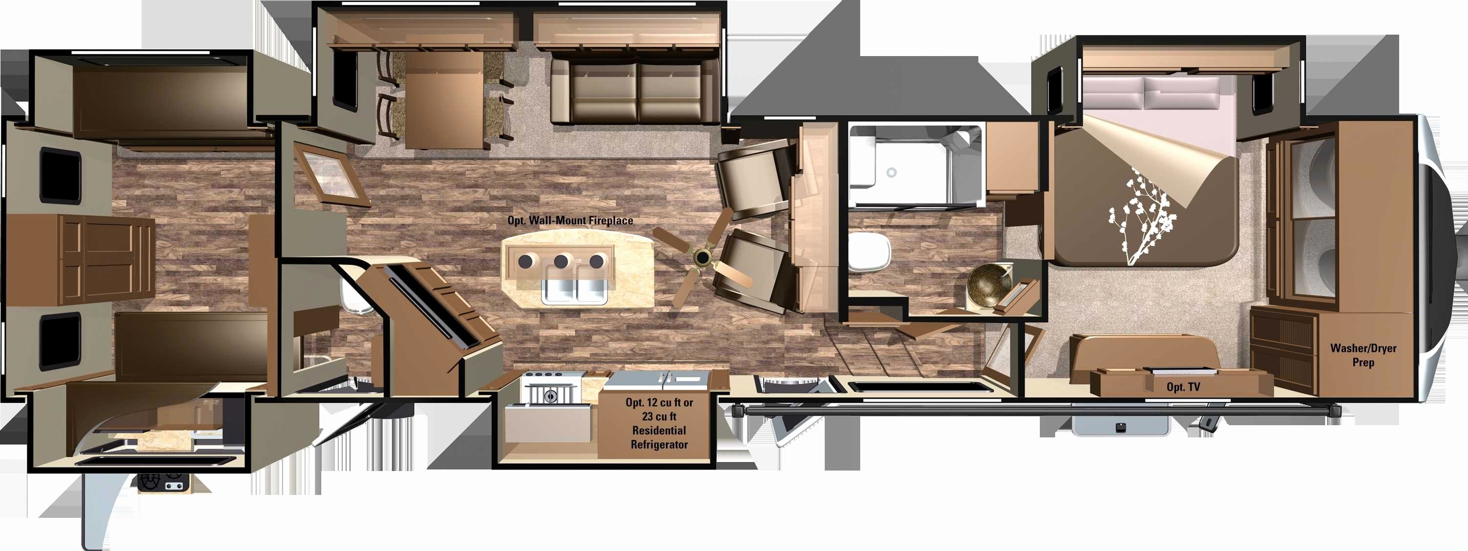 Https Cia2online Com Images 2018 05 Two Bedroom Rv Floor Plans