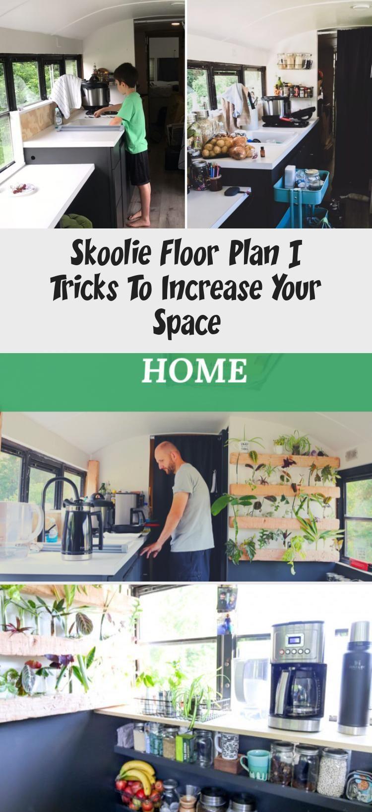 skoolie floor plan tricks
