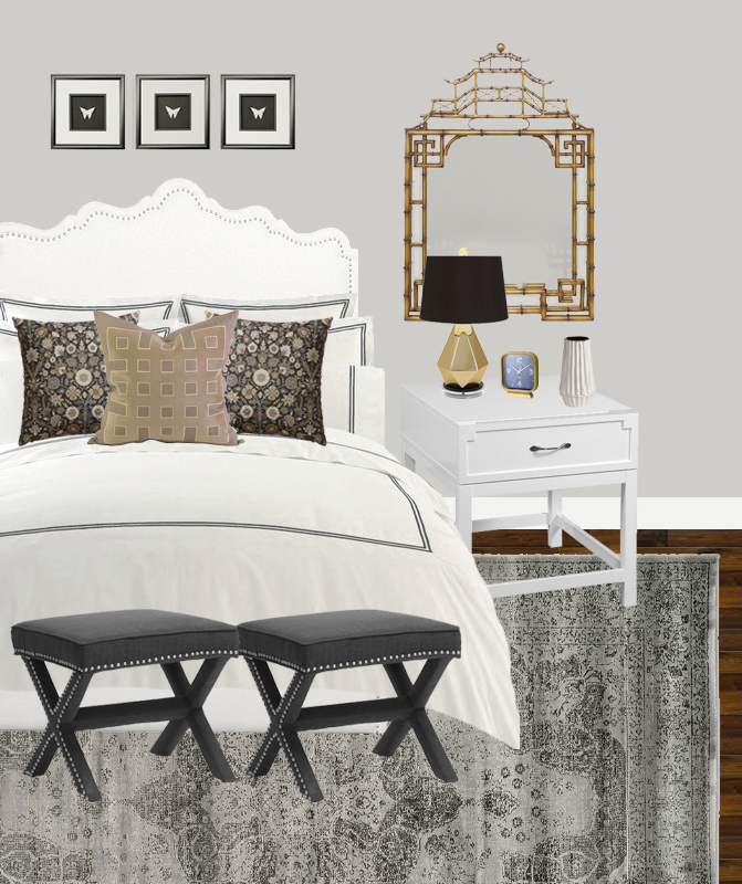 Design An Elegant Bedroom In 5 Easy Steps: An Elegant Bedroom Design With My Habit