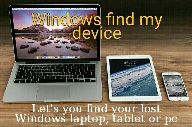 Windows 10 How to set up and use Find My Device Apple