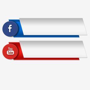3d Icon Youtube Social Media Banner, Page, Channel, Share