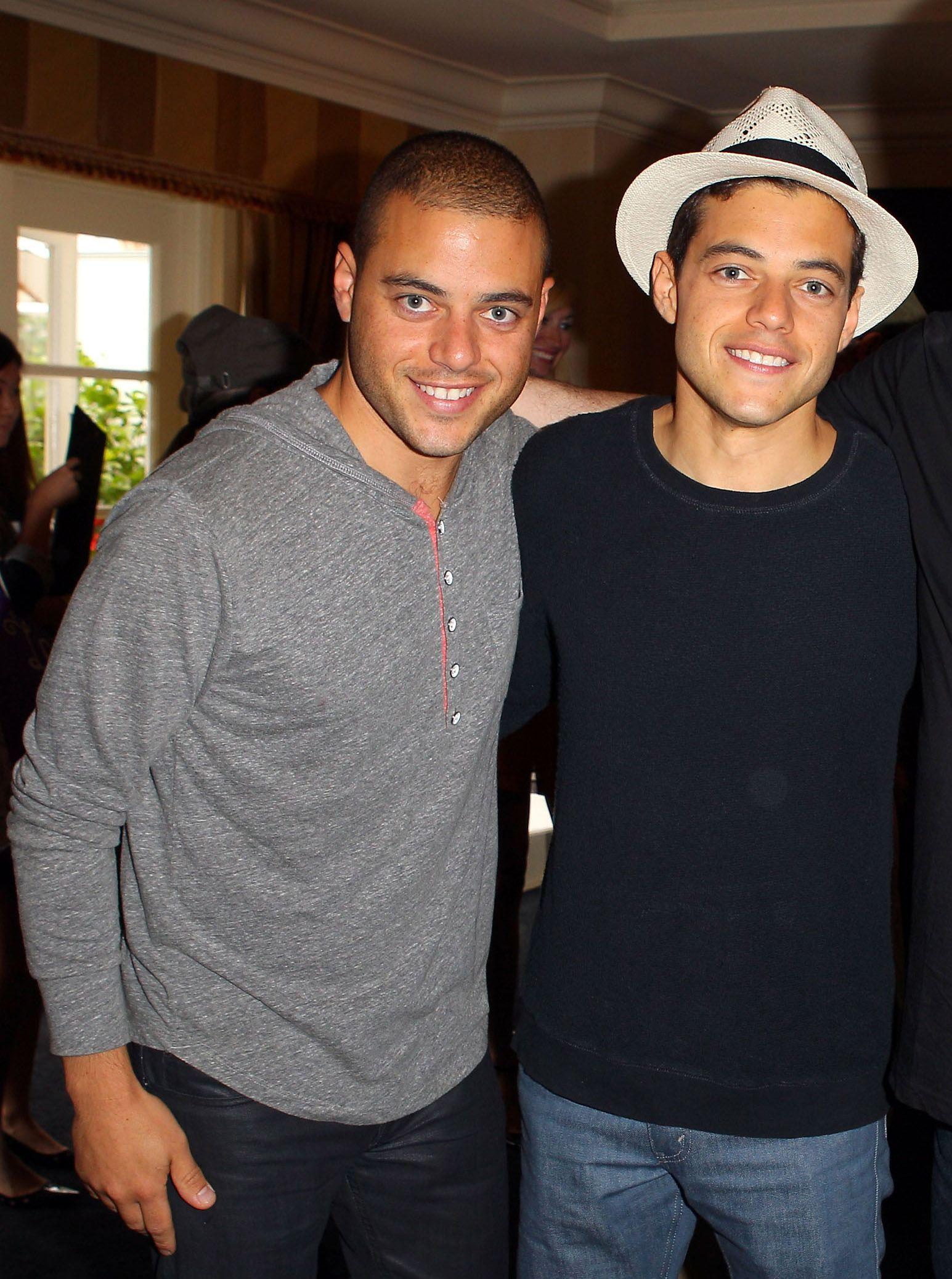 Sam Rami Malek Twin Brothers Celebrity Crush Rami Malek Rami