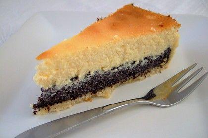 Mohn Kase Torte