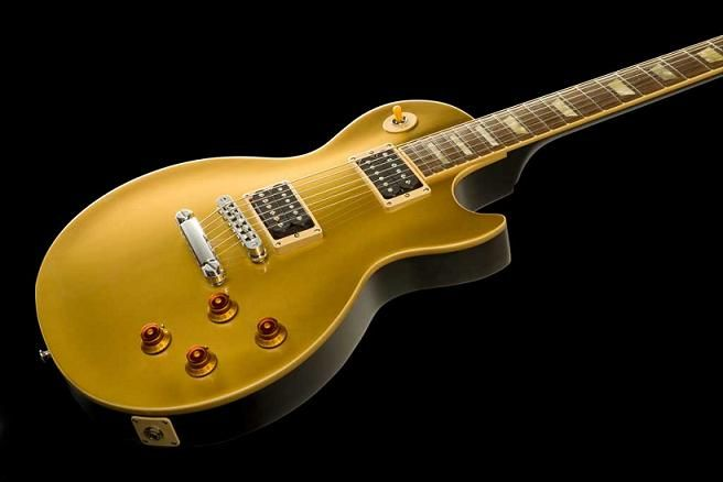 c5c95c69f1a4fe Gibson and Epiphone announce the new Slash Les Paul Goldtop .