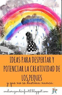 Es bien sabido que el pensamiento creativo cada vez cobra más importancia  en la actualidad. La sociedad cambia con mayor rapidez, lo qu...