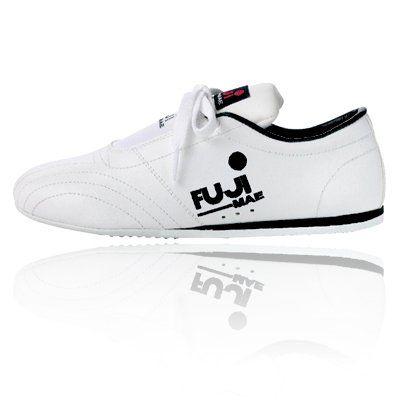 cae83dc27ff Fuji Mae Leren Taekwon-Do / Vechtsport schoenen wit | Fuji Mae ...