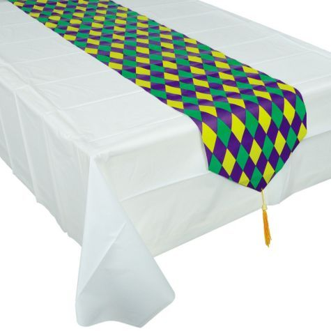 Mardi Gras Table Runner Party City