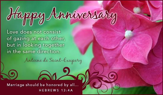 Happy Anniversary eCard - Free Anniversary Greeting Cards Online ...