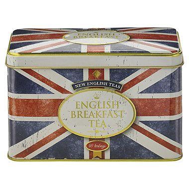 Union Jack Tea Tin - from Lakeland
