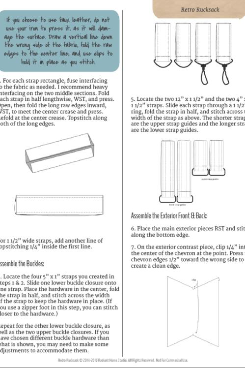 Retro Rucksack sample page Bolsas Jeans, Home Studio, Bag Making, Retro,  Bags 6cef9954e5